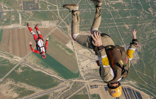 What its like to skydive