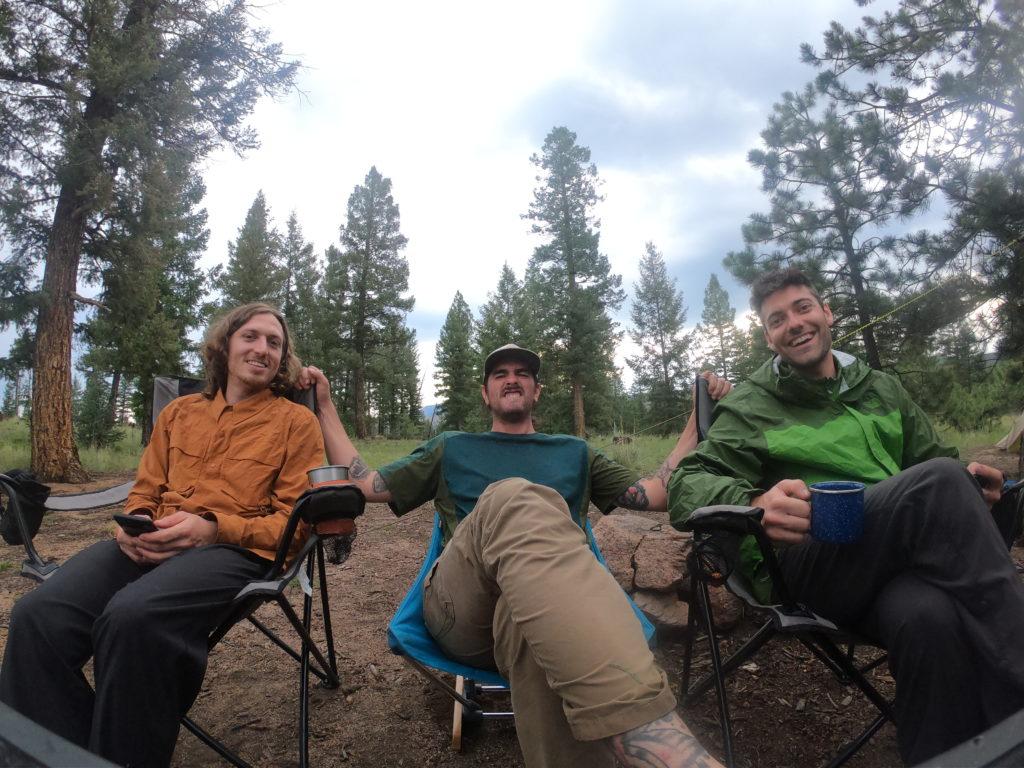 The Boys - Turkey Rocks, CO