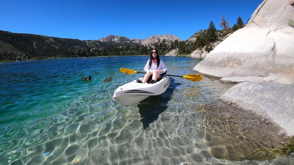 Kayaking June Lake